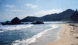 Strand in Tayrona, Quelle Wikipedia